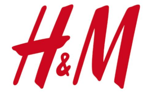 H und M - logo