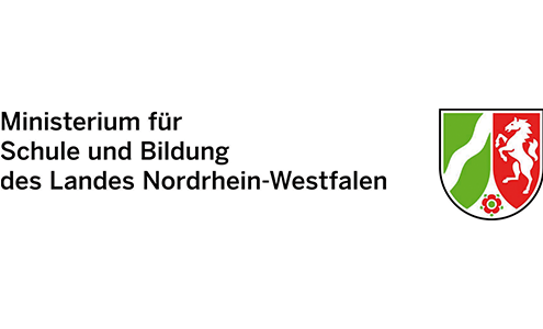 Ministerium fuer Schule und Bildung des Landes Nordrhein-Westfalen - Logo
