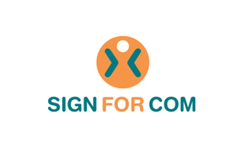 SIGN FOR COM - Logo