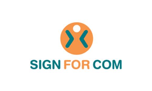 SIGN FOR COM - Logo