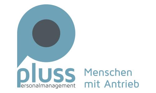 pluss Personalmanagement - Logo