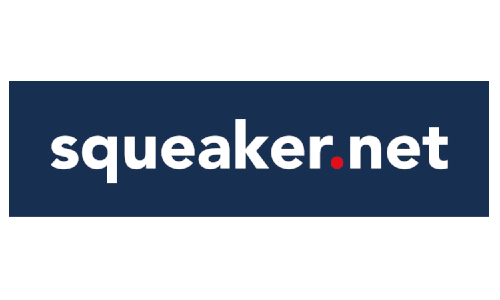squeaker net - Logo