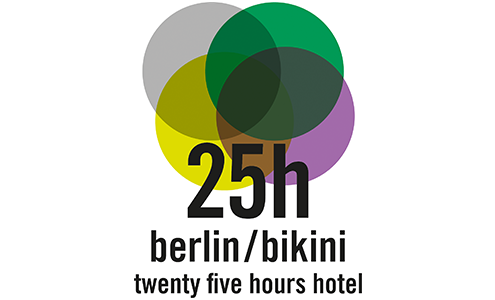 25hours hotel bikini berlin - logo