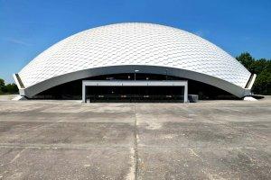 Außenansicht Jahrhunderthalle Frankfurt