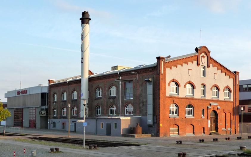 Energieleitzentrale Bremen, Aussenansicht