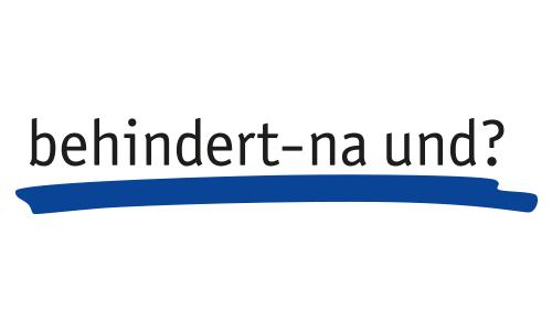 Behindert na und - logo