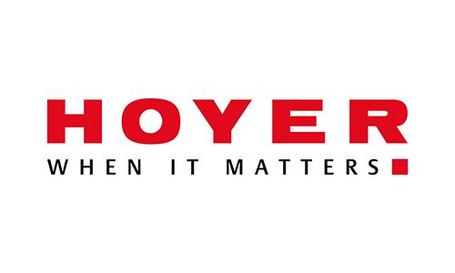 Hoyer GmbH Internationale Fachspedition - Logo